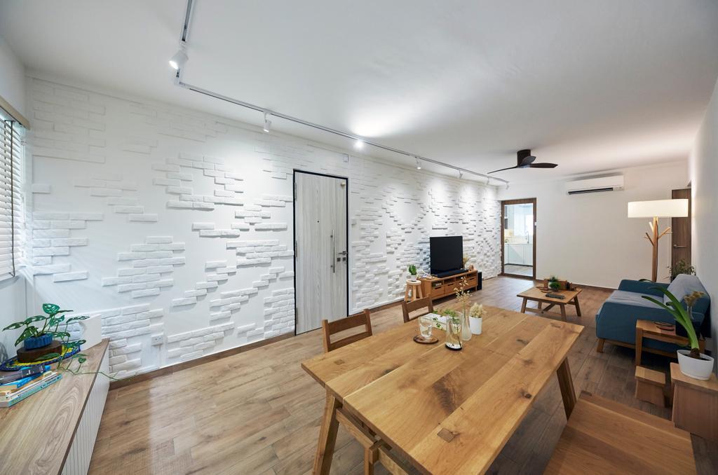 Contemporary, HDB, Dining Room, Serangoon Avenue 2, Interior Designer, i-Chapter