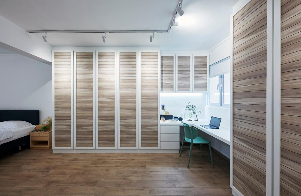 Contemporary, HDB, Serangoon Avenue 2, Interior Designer, i-Chapter