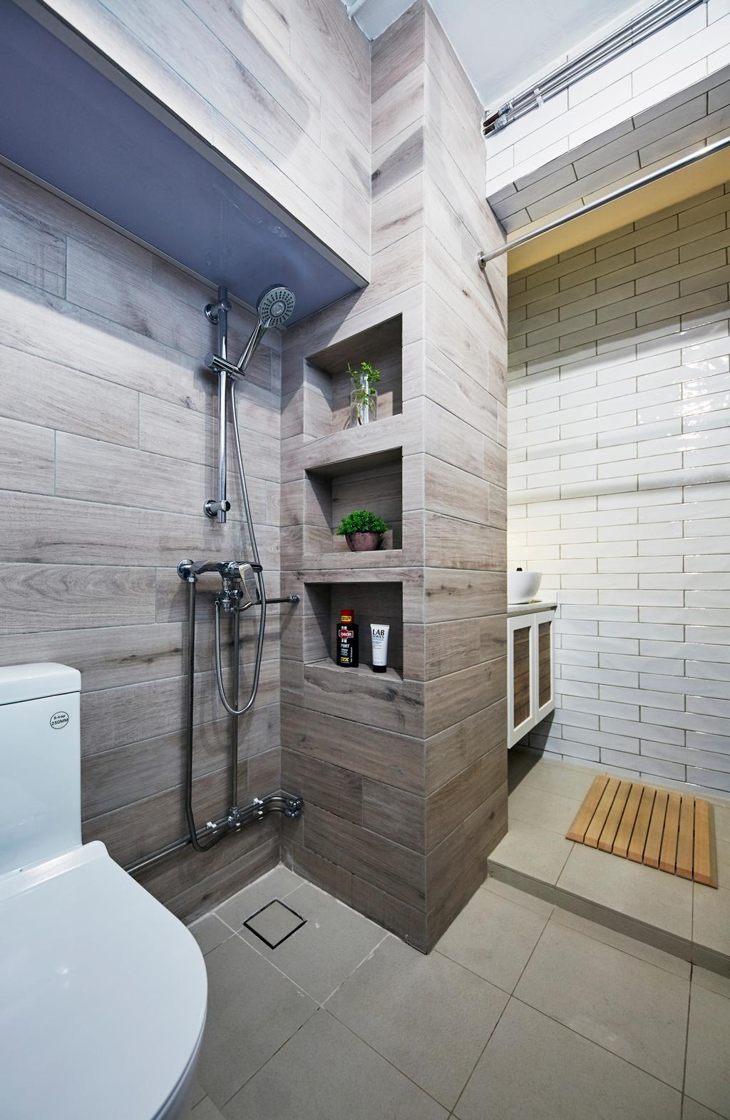 Contemporary, HDB, Bathroom, Serangoon Avenue 2, Interior Designer, i-Chapter