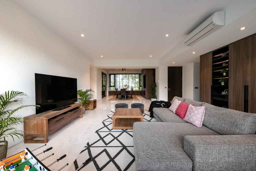 Contemporary, Condo, Living Room, The Belmont, Interior Designer, Space Atelier