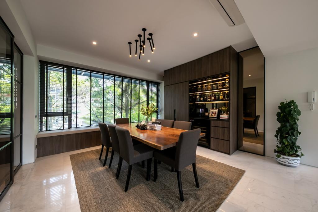 Contemporary, Condo, Dining Room, The Belmont, Interior Designer, Space Atelier
