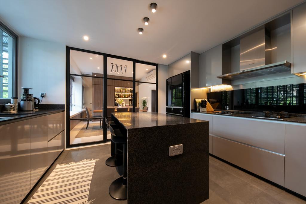 Contemporary, Condo, Kitchen, The Belmont, Interior Designer, Space Atelier