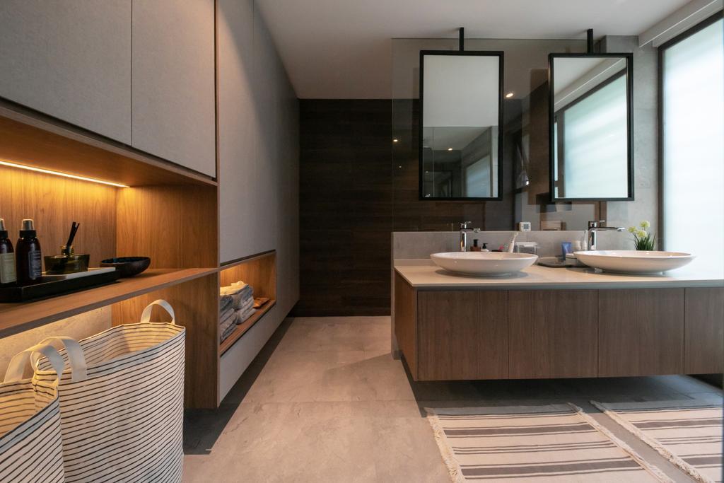 Contemporary, Condo, Bathroom, The Belmont, Interior Designer, Space Atelier