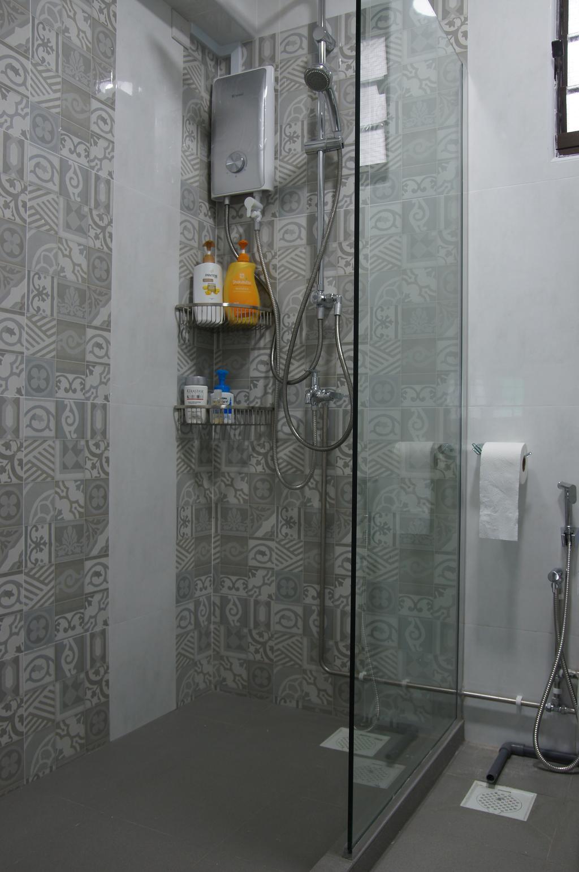 Modern, HDB, Bathroom, Woodlands Drive 14, Interior Designer, Domeco Interior