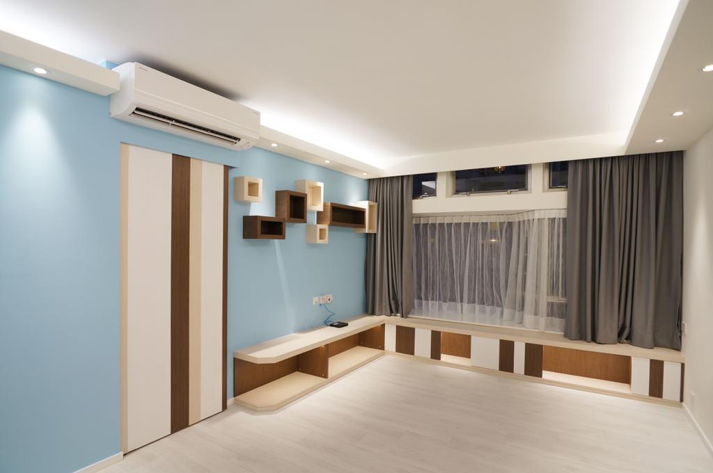 私家樓, 客廳, 海濱花園, 室內設計師, 和生設計