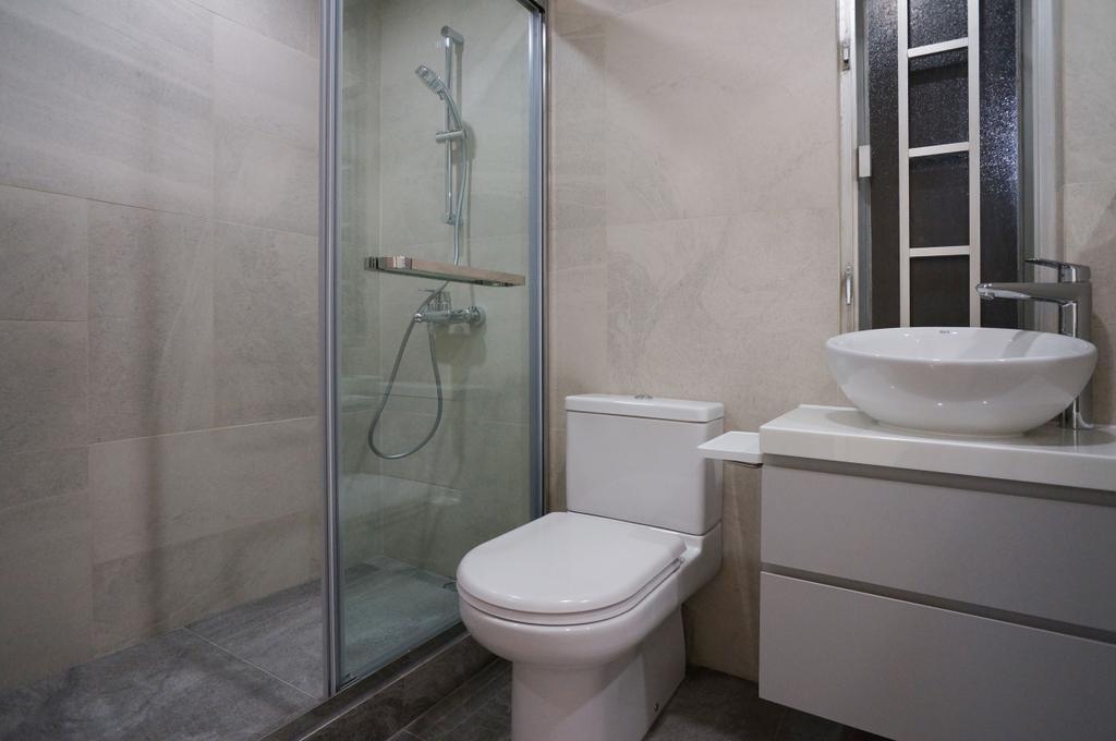 私家樓, 浴室, 海濱花園, 室內設計師, 和生設計