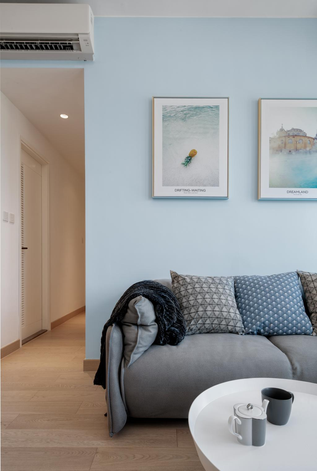 私家樓, 客廳, Savannah, 室內設計師, Pixel Interior Design