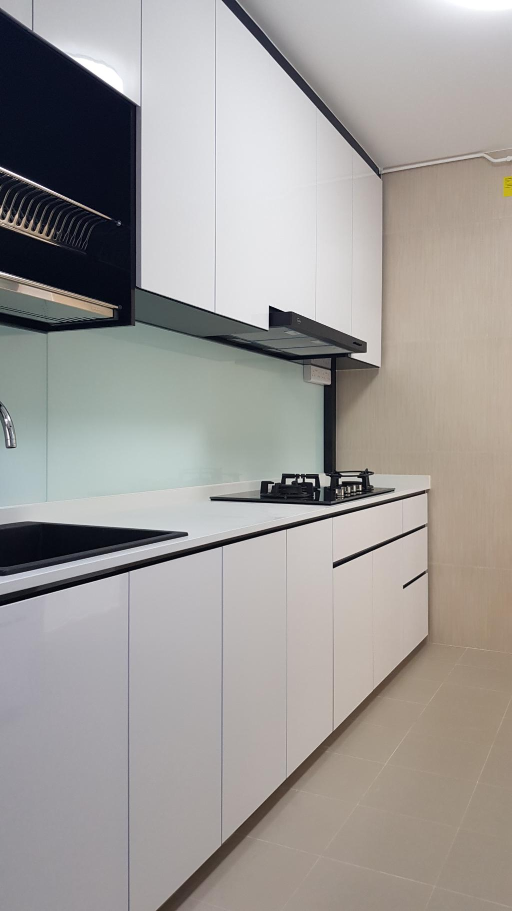Contemporary, HDB, Kitchen, Blossom Spring @ Yishun, Interior Designer, APH Projects