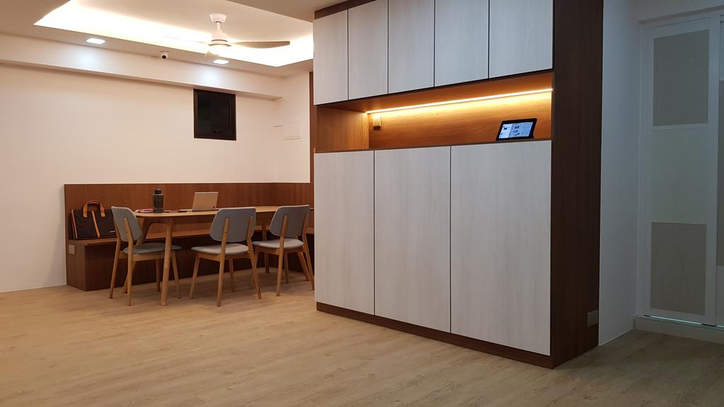 Contemporary, HDB, Anchorvale Lane, Interior Designer, APH Projects