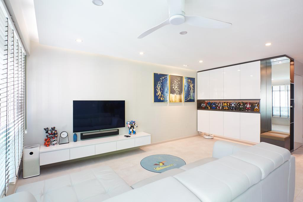 Contemporary, HDB, Living Room, Woodlands Street 13, Interior Designer, APH Projects