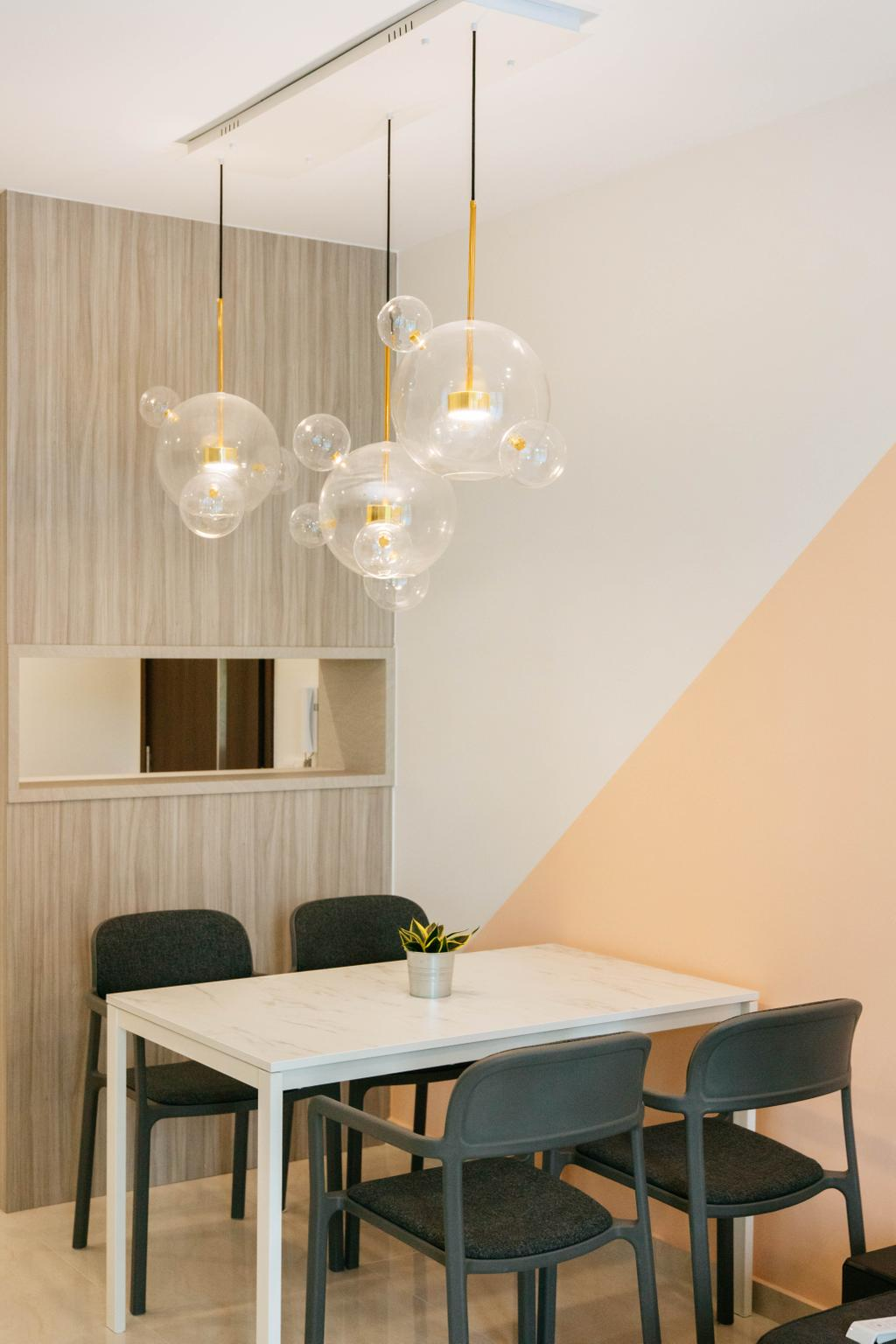 Contemporary, Condo, Dining Room, Signature At Yishun, Interior Designer, Ascend Design