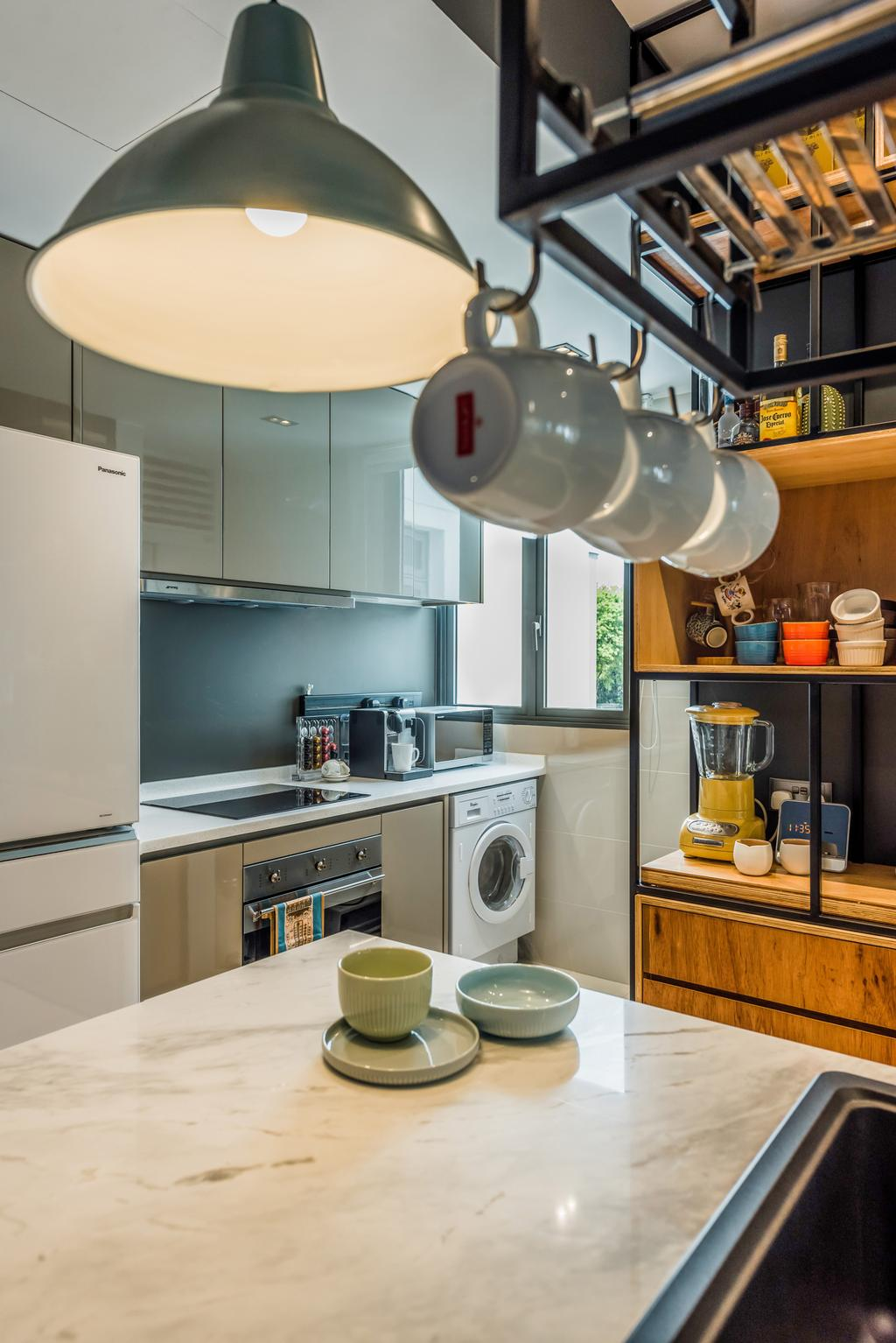 Eclectic, Condo, Dining Room, Sophia Hills, Interior Designer, Fuse Concept, Contemporary
