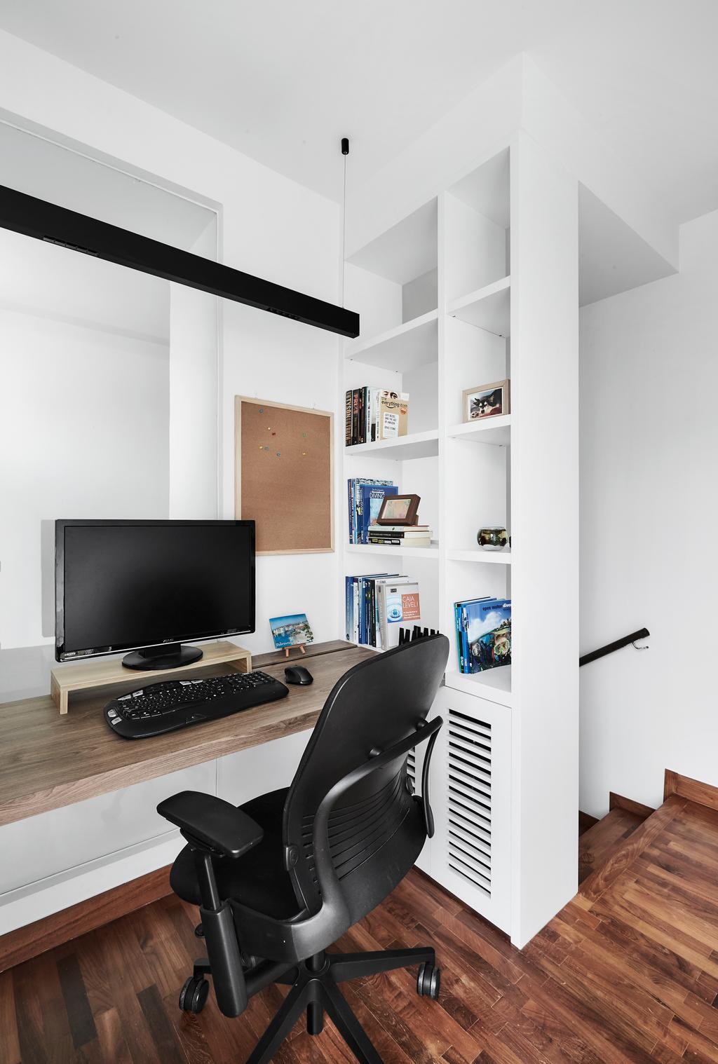 Contemporary, Condo, Study, The Shelford, Interior Designer, Third Avenue Studio