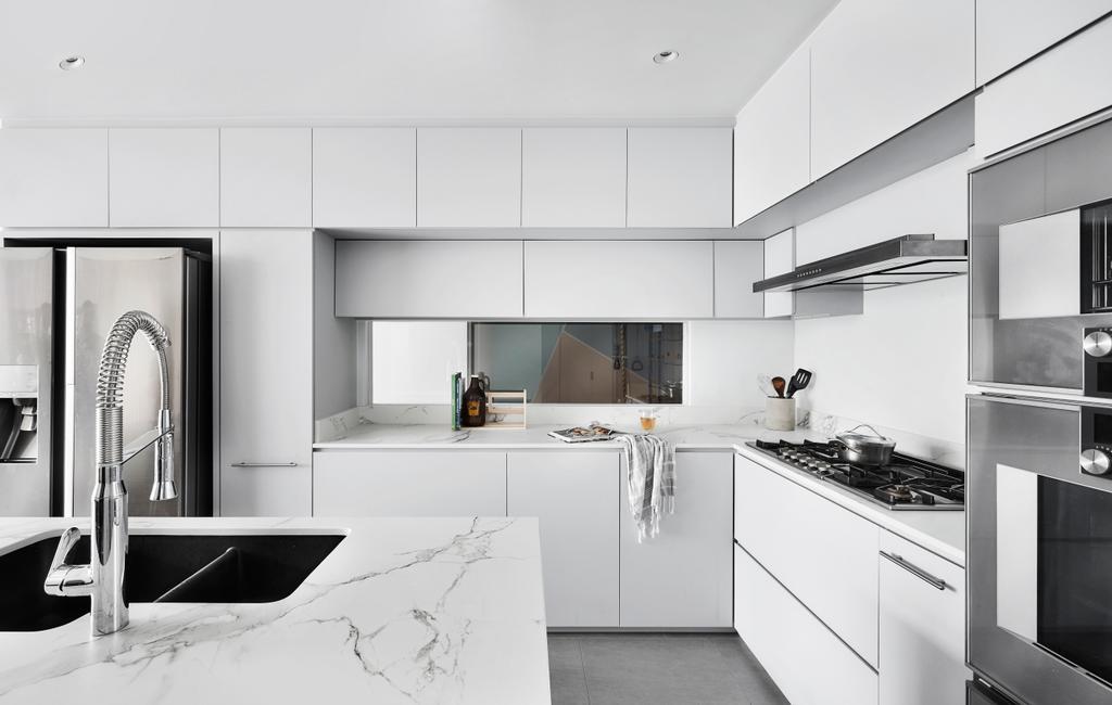 Contemporary, Condo, Kitchen, The Shelford, Interior Designer, Third Avenue Studio, Kitchen Island