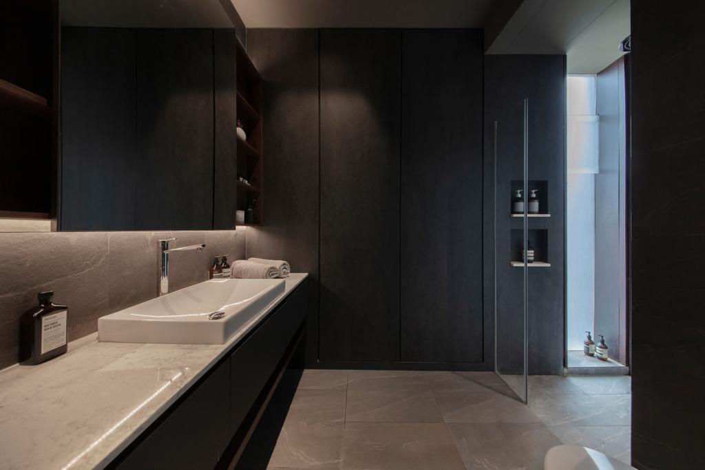 Contemporary, Landed, Bathroom, Joo Chiat, Interior Designer, Dyel Design