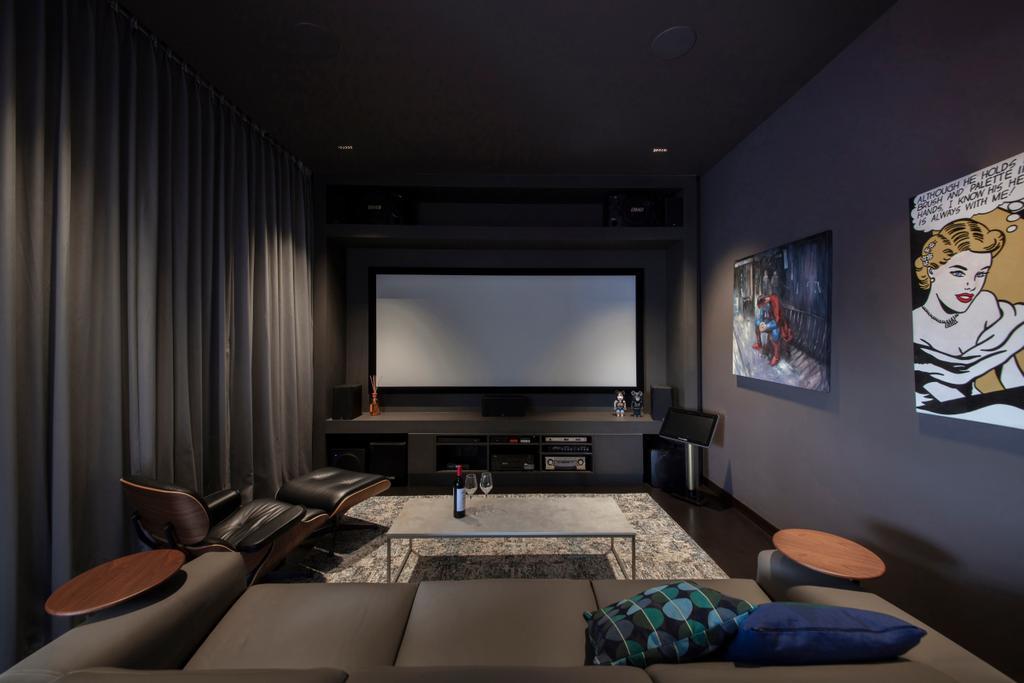 Contemporary, Landed, Study, Joo Chiat, Interior Designer, Dyel Design