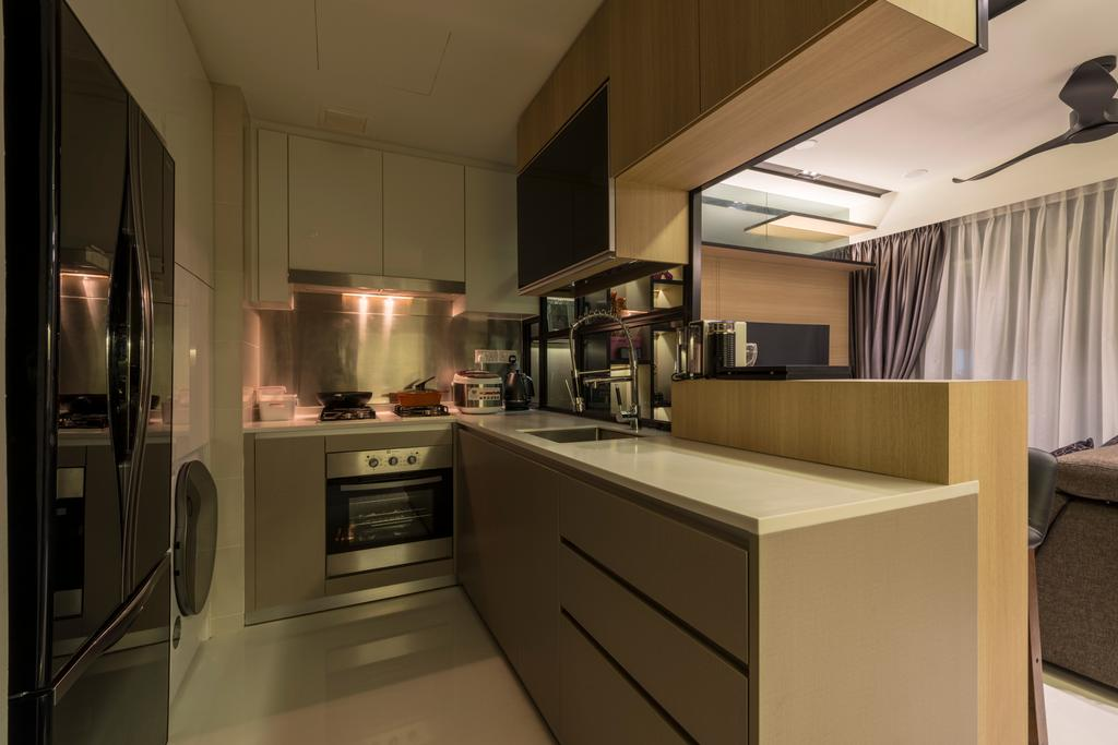 Contemporary, Condo, Hedge Park, Interior Designer, Earth Interior Design Pte Ltd