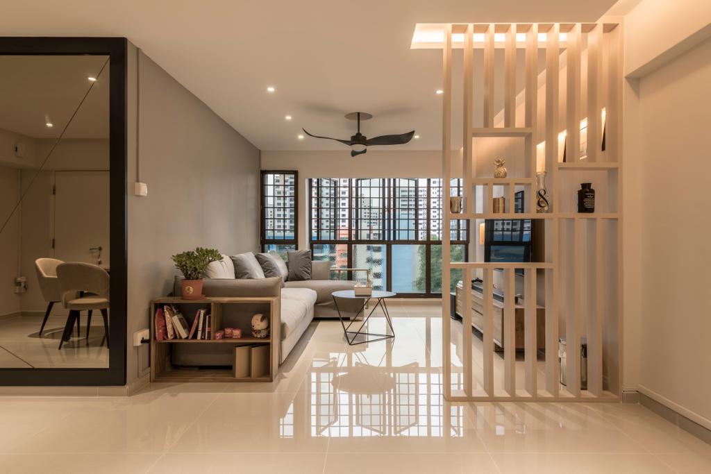 Modern, HDB, Living Room, Jurong West (Block 605), Interior Designer, Earth Interior Design Pte Ltd