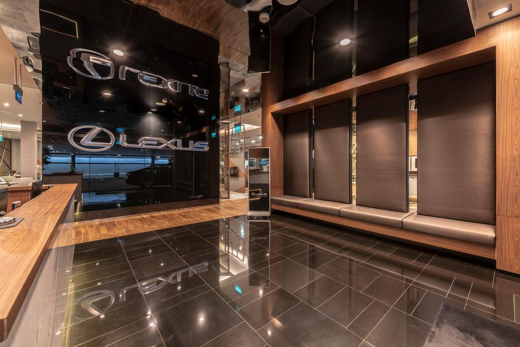 Lexus Showroom, Commercial, Interior Designer, Earth Interior Design Pte Ltd, Modern