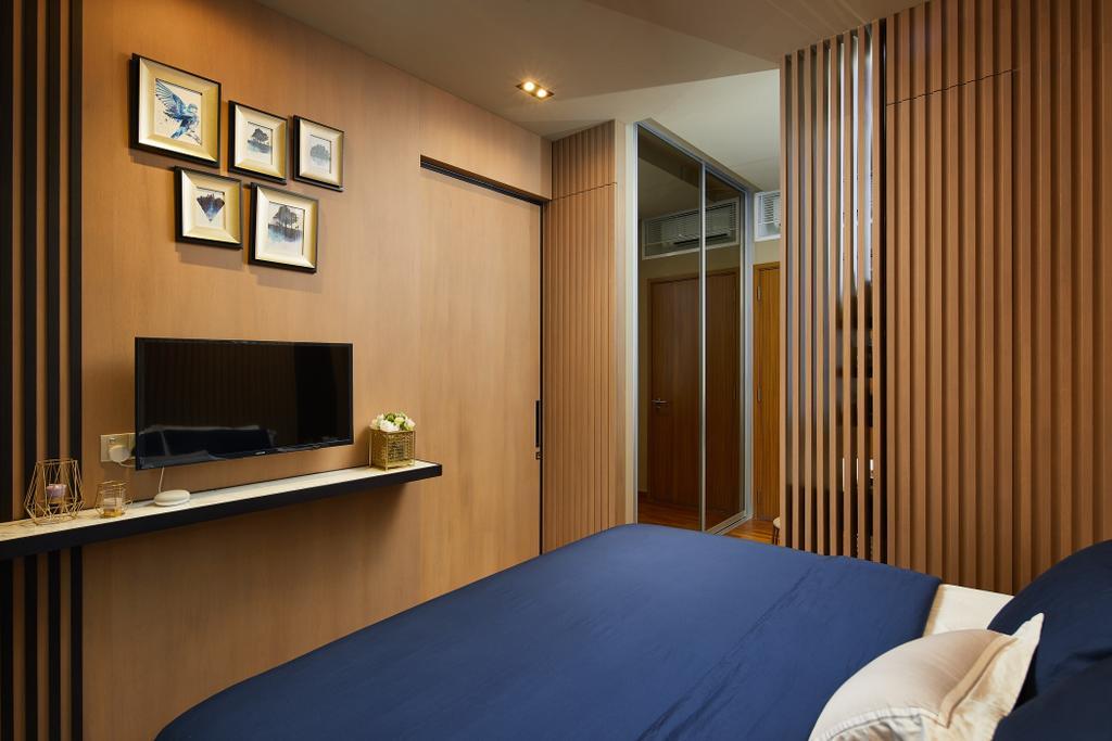 Contemporary, Condo, Bedroom, Urban Oasis, Interior Designer, Black N White Haus