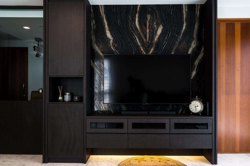 Contemporary, Condo, Living Room, Palm Grove, Interior Designer, Archive Design