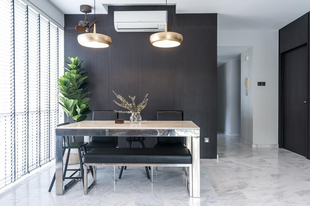Contemporary, Condo, Dining Room, Palm Grove, Interior Designer, Archive Design