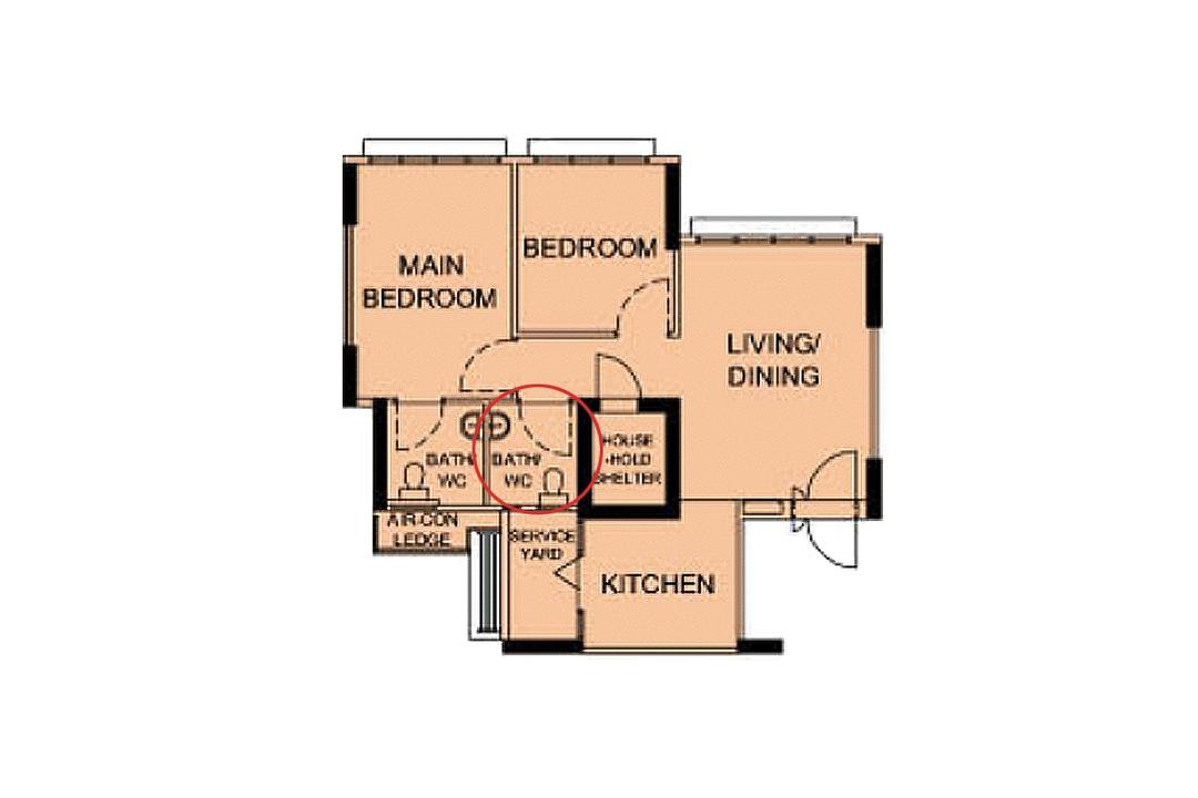 layouts for 3-room hdb