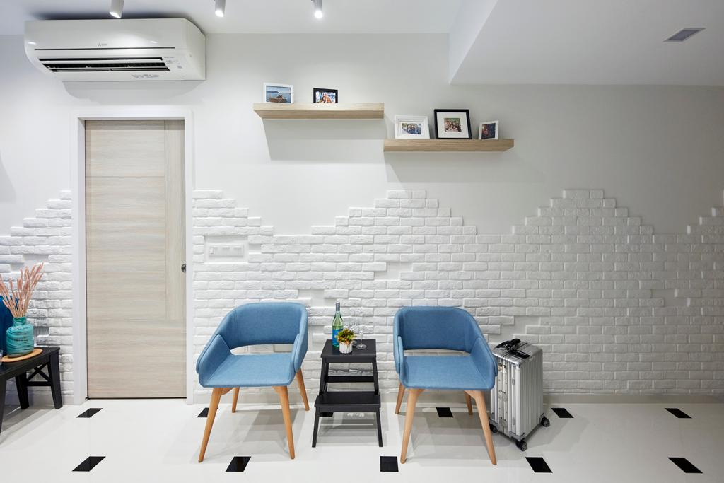 Contemporary, Condo, Living Room, Mount Sophia, Interior Designer, i-Chapter