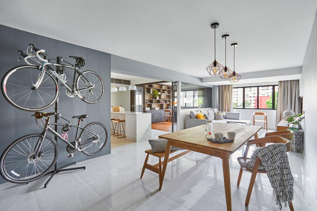 Woodlands Ring Road Living Room Interior Design 1