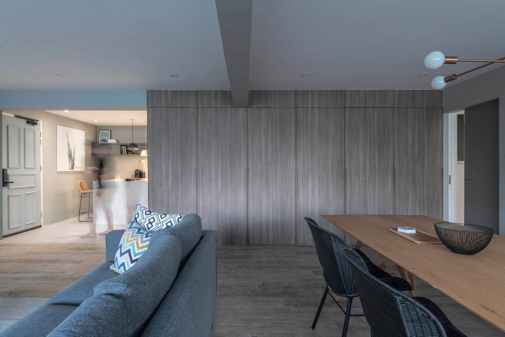 Contemporary, HDB, Living Room, Jalan Dusun, Interior Designer, Bowerman