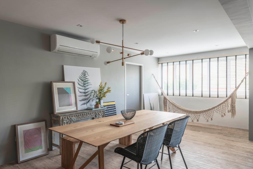 Contemporary, HDB, Dining Room, Jalan Dusun, Interior Designer, Bowerman