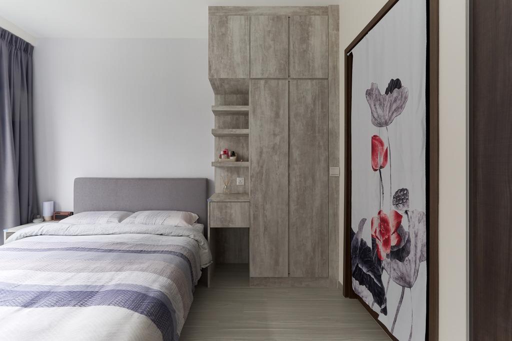 Contemporary, Condo, Bedroom, The Visionaire, Interior Designer, Charlotte's Carpentry
