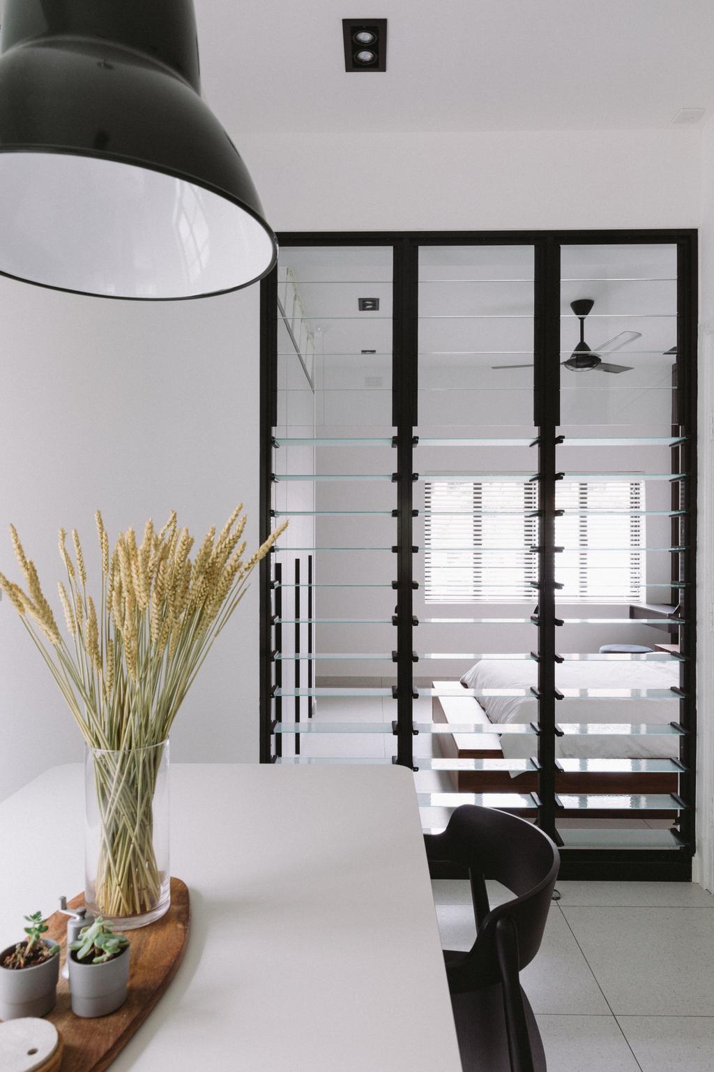 Contemporary, HDB, Dining Room, Seng Poh Road, Interior Designer, Habit, Vintage