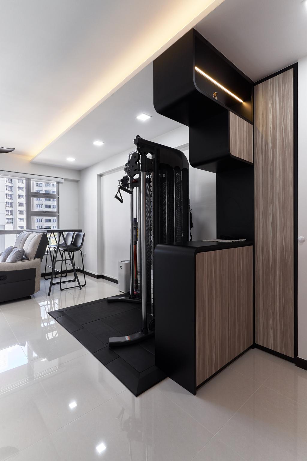 Modern, HDB, Sembawang Crescent, Interior Designer, Noble Interior Design