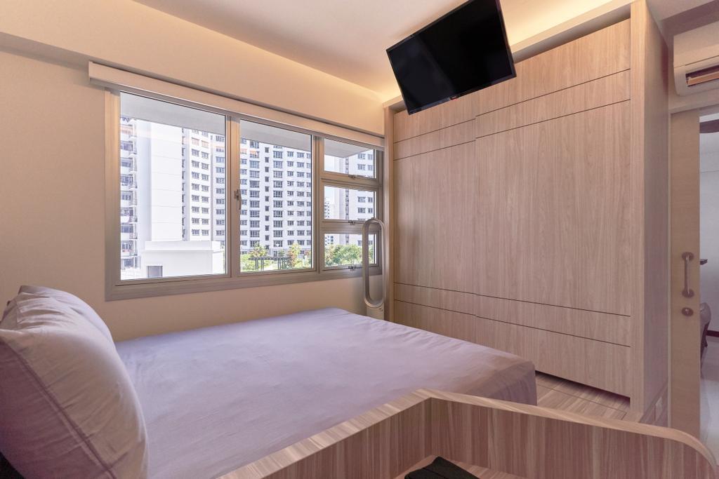 Modern, HDB, Bedroom, Sembawang Crescent, Interior Designer, Noble Interior Design