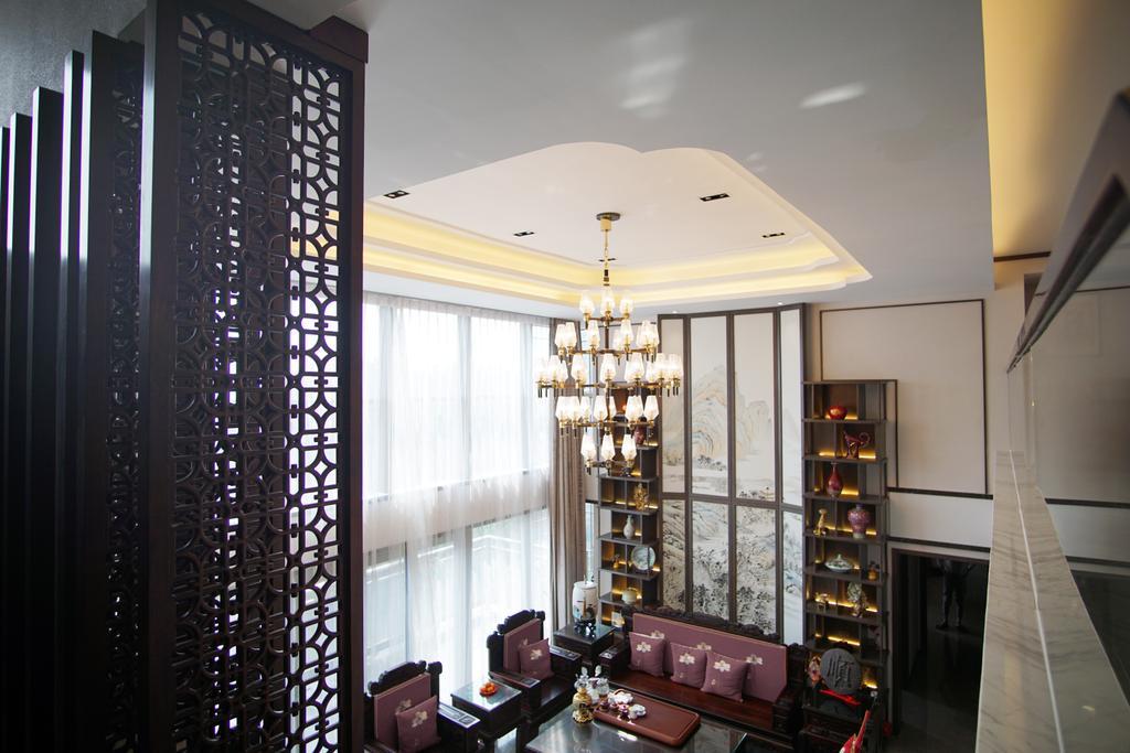 摩登, 私家樓, 客廳, King Top Hill, 室內設計師, AQUA Projects