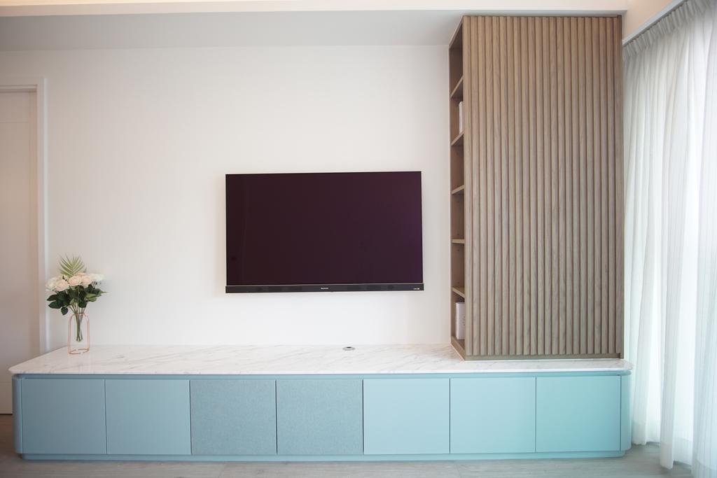 摩登, 私家樓, 客廳, 丰滙, 室內設計師, AQUA Projects, 當代