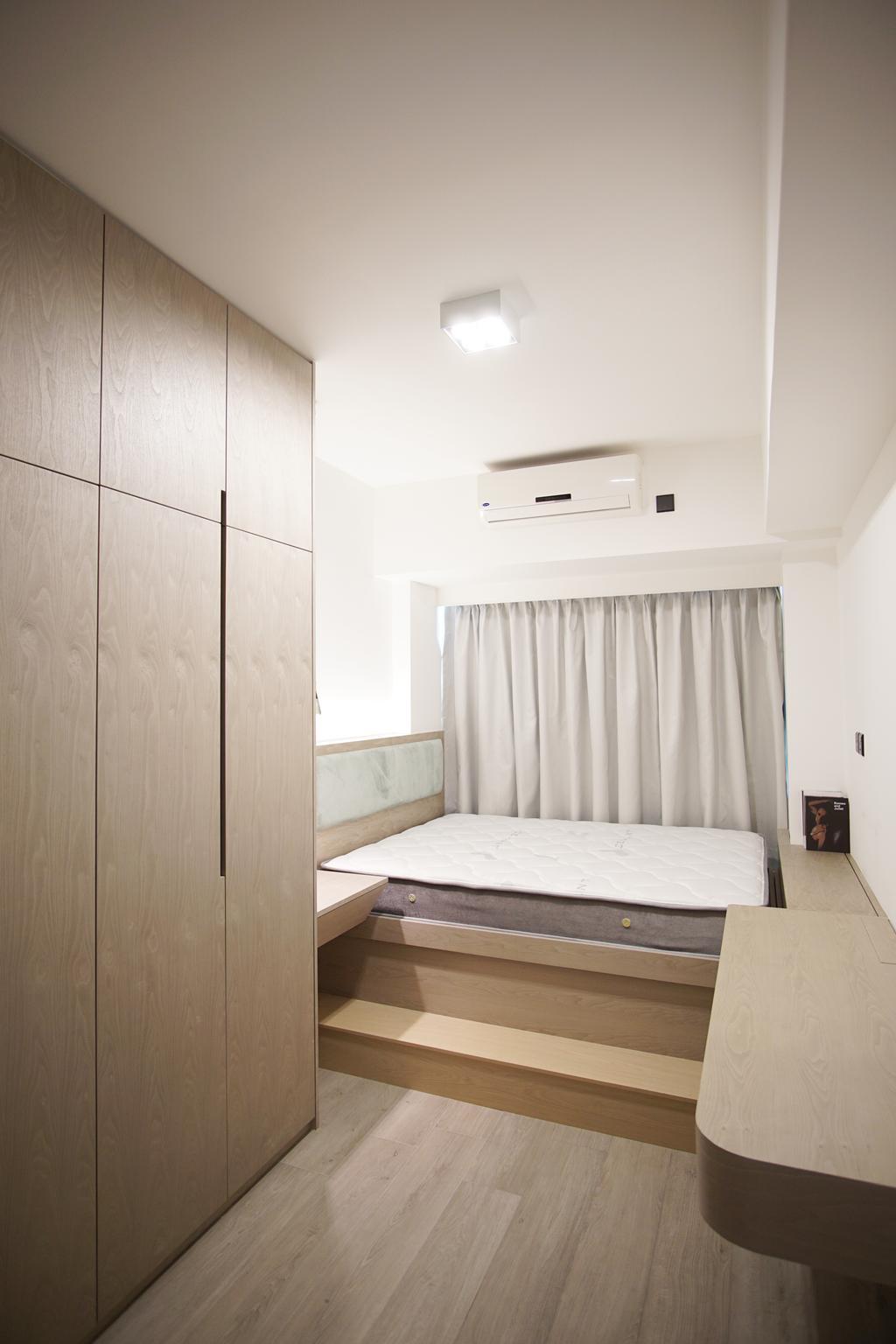 摩登, 私家樓, 睡房, 丰滙, 室內設計師, AQUA Projects, 當代