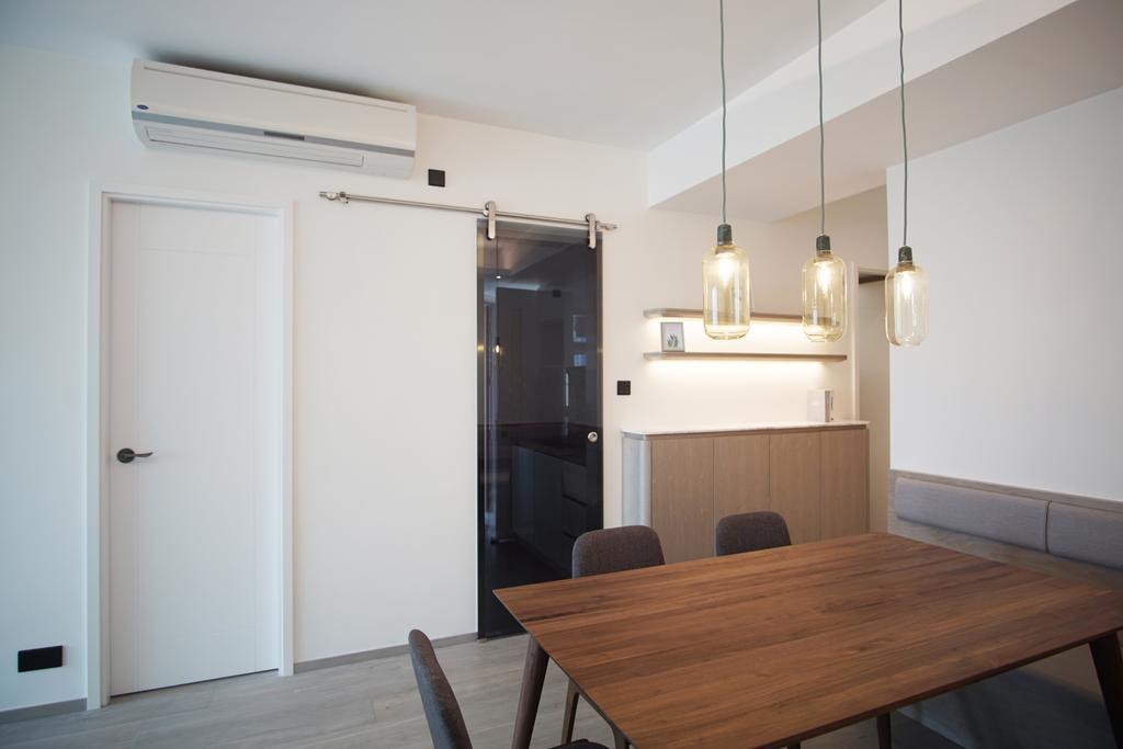 摩登, 私家樓, 飯廳, 丰滙, 室內設計師, AQUA Projects, 當代