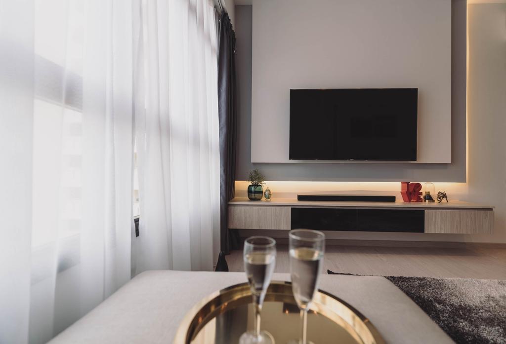 Contemporary, HDB, Living Room, Toa Payoh Lorong 1, Interior Designer, Artmuse Interior