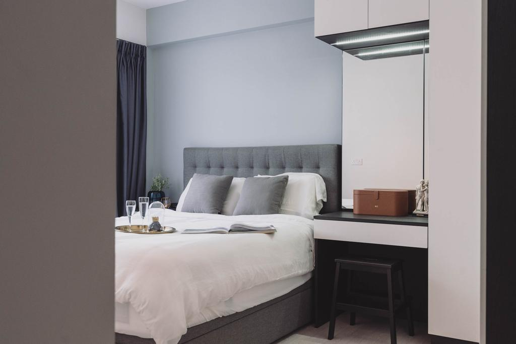 Contemporary, HDB, Bedroom, Toa Payoh Lorong 1, Interior Designer, Artmuse Interior