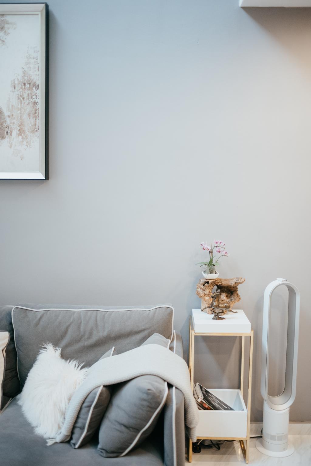 Contemporary, Condo, Living Room, Seletar Springs, Interior Designer, SHE Interior, Eclectic