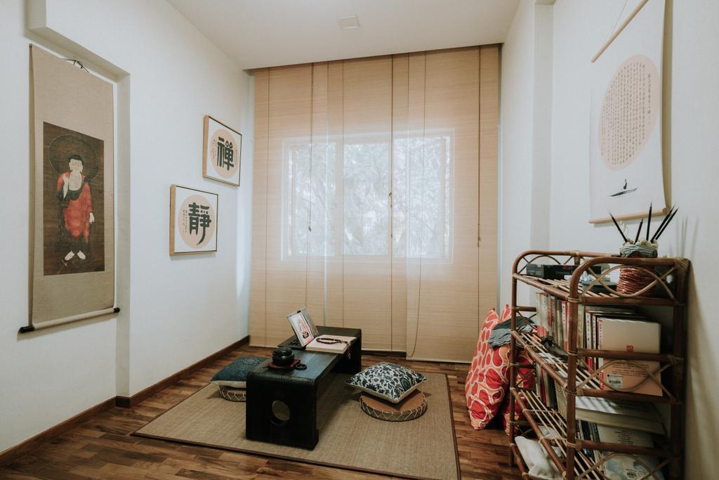 Contemporary, Condo, Study, Seletar Springs, Interior Designer, SHE Interior, Eclectic