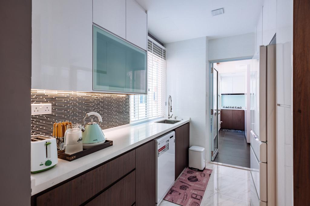 Contemporary, Condo, Kitchen, Seletar Springs, Interior Designer, SHE Interior, Eclectic