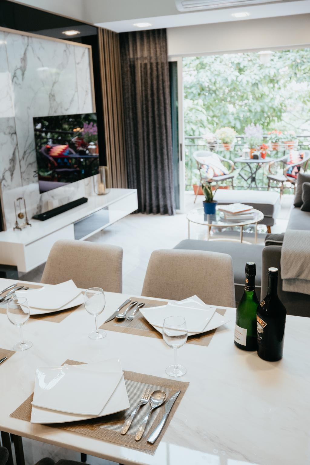 Contemporary, Condo, Dining Room, Seletar Springs, Interior Designer, SHE Interior, Eclectic