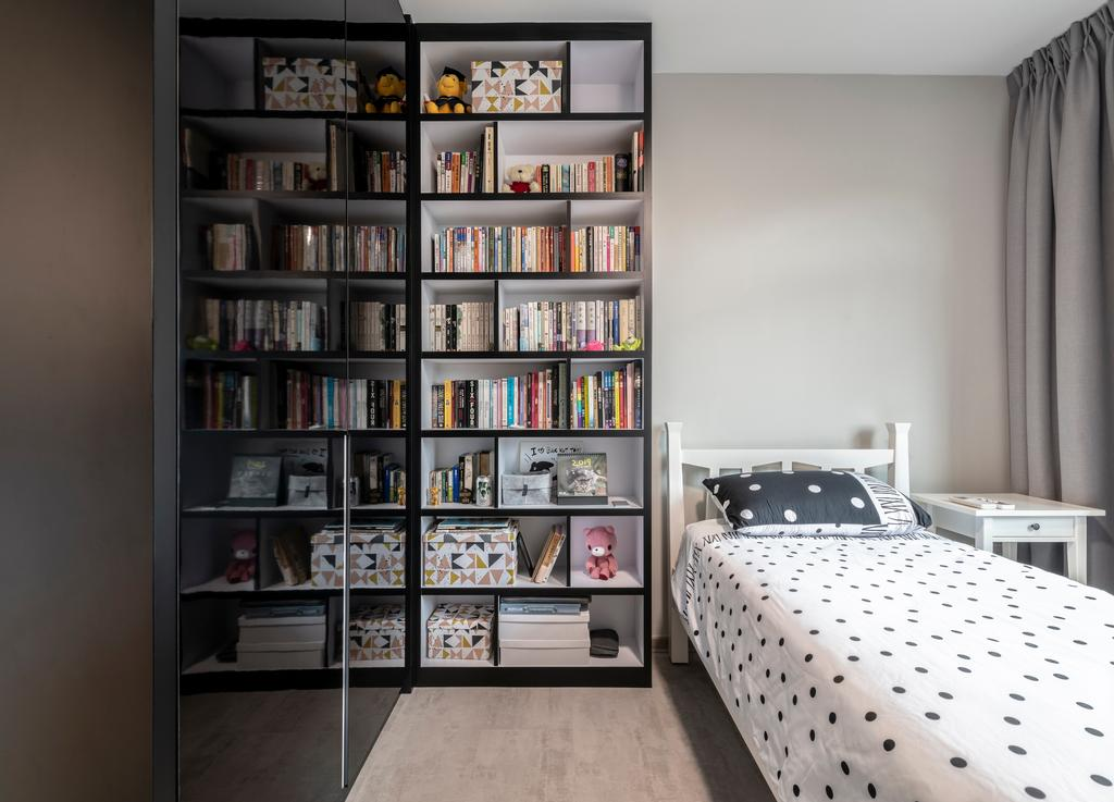 Contemporary, HDB, Bedroom, Bukit Batok Street 21, Interior Designer, SHE Interior