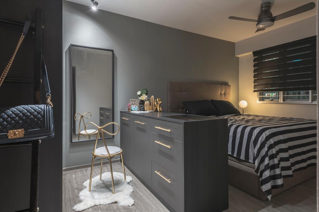 Contemporary, HDB, Bedroom, Woodlands Street 13, Interior Designer, SHE Interior, Scandinavian