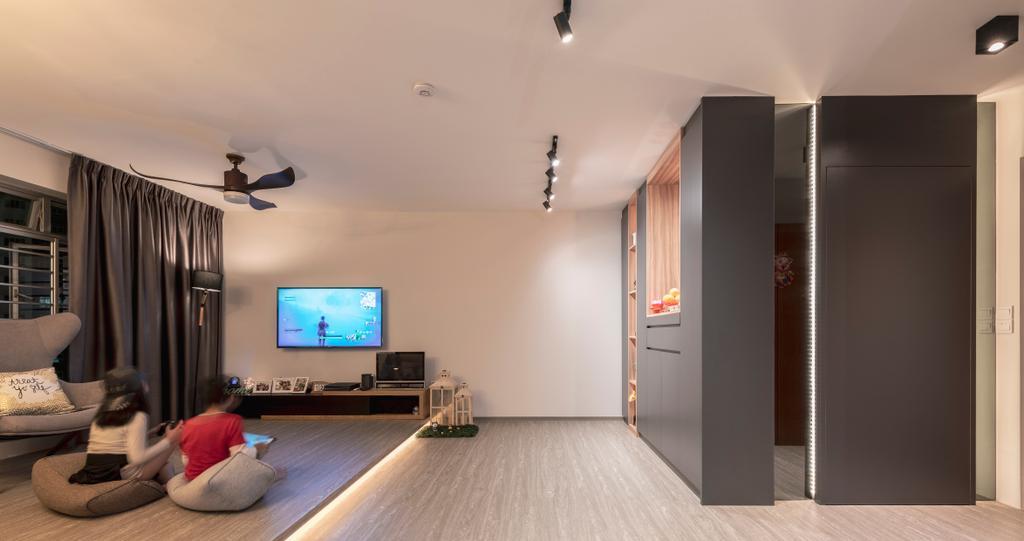 Contemporary, HDB, Woodlands Street 13, Interior Designer, SHE Interior, Scandinavian