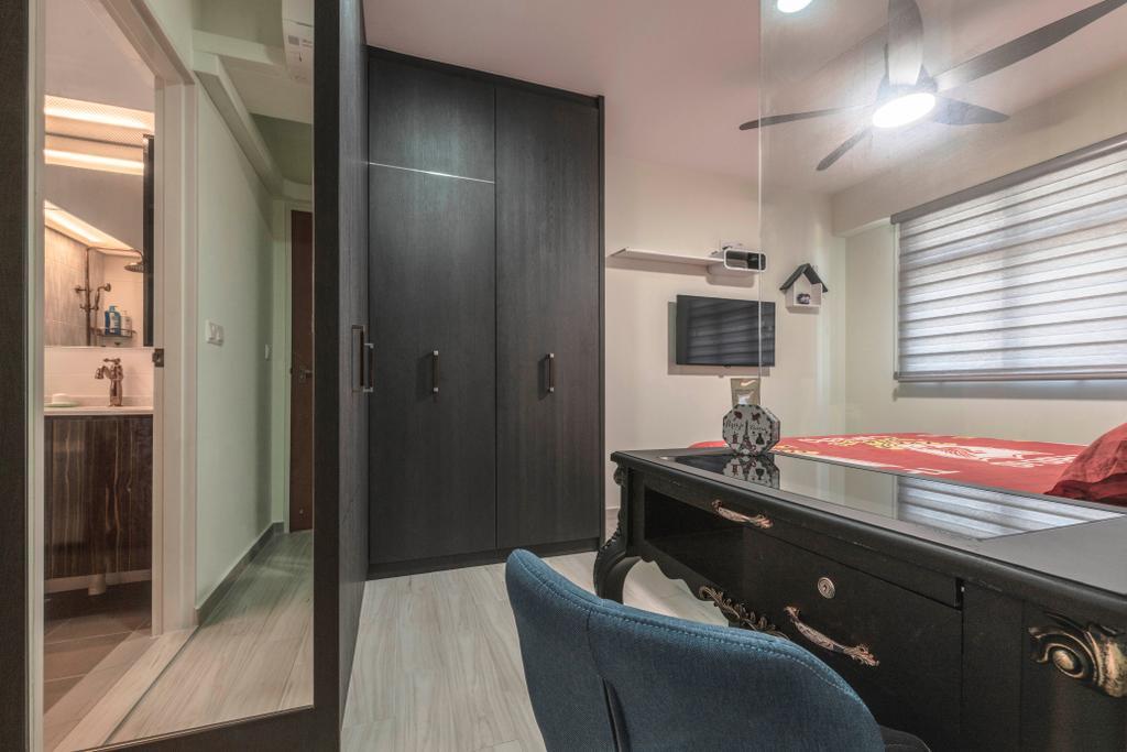 Contemporary, HDB, Bedroom, Corporation Drive, Interior Designer, SHE Interior