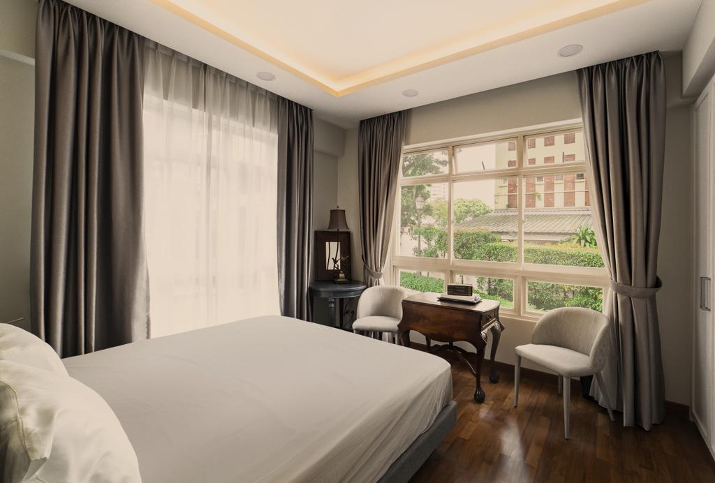 Contemporary, Condo, Bedroom, Meadow Lodge, Interior Designer, SHE Interior